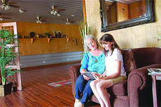 """<div class=""""source"""">SUBMITTED</div><div class=""""image-desc"""">Ambrosia Massage and Wellness Center offers a variety of relaxation and treatment tools including individually designed treatment plans. Coming Jan. 1, 2015, the business will provide more physical fitness opportunities.</div><div class=""""buy-pic""""></div>"""