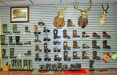 """<div class=""""source"""">ABIGAIL WHITEHOUSE</div><div class=""""image-desc"""">Green River Outdoors has a wide variety of work boots and outdoor footwear. </div><div class=""""buy-pic""""></div>"""