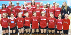 """<div class=""""source""""></div><div class=""""image-desc"""">The 2018-2019 Casey County Middle School Volley Rebs ended their season with a banquet on March 24. The girls were given a medal with their statistics engraved on it. They ended the year with some friendly volleyball games.  Pictured bottom row left to right: Kennedy Phillips, Lakin Blevins, Abby Vaughn, Kaitlin Phillips, Karmen Cundiff, Elizabeth Forbes, Megan Robertson, Riley McQueary and Tessa Hale. Second row: Sophia Lynn, Chyenne Cochran, Kate Barnes, Gracie Demrow, Shelby McQueary, Ella Lawhorn, Amy Lee, Jayden Allen, Haven Jones. Third row: Molly Calhoun, Miley Cape, Bryanna Grider, Sarah Streeval, Kayla Hamilton, Ally Martindill and Addyinson Poff. Absent from the photo was Chloe  Wilkey.   </div><div class=""""buy-pic""""><a href=""""/photo_select/27065"""">Buy this photo</a></div>"""
